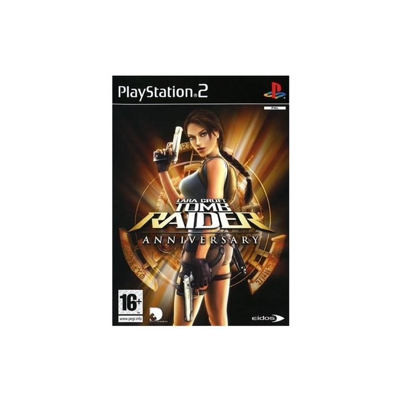 PS2 TOMB RAIDER ANNIVERSARY - Jeux PS2 au prix de 6,95€