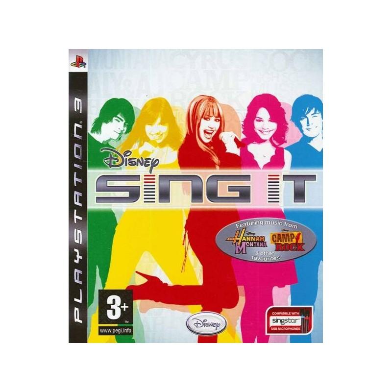 PS3 SING IT - Jeux PS3 au prix de 2,95€