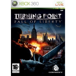 X360 TURNING POINT : FALL OF LIBERTY - Jeux Xbox 360 au prix de 6,95€