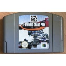 N64 F1 WORLD GRAND PRIX (LOOSE) - Jeux Nintendo 64 au prix de 0,95€
