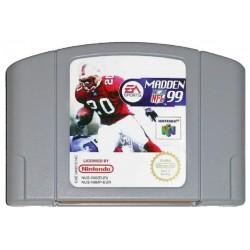 N64 MADDEN NFL 99 (LOOSE) - Jeux Nintendo 64 au prix de 4,95€