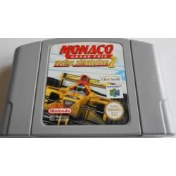 N64 MONACO GRAND PRIX RACING SIMULATION 2 (LOOSE) - Jeux Nintendo 64 au prix de 4,95€