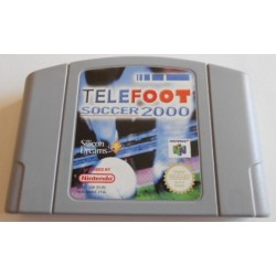 N64 TELEFOOT SOCCER 2000 (LOOSE) - Jeux Nintendo 64 au prix de 2,95€