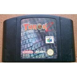 N64 TUROK 2 (LOOSE) - Jeux Nintendo 64 au prix de 9,95€