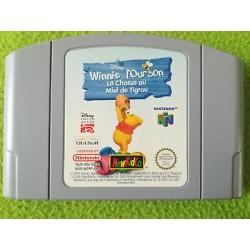 N64 WINNIE L OURSON LA CHASSE AU MIEL DE TIGROU (LOOSE) - Jeux Nintendo 64 au prix de 6,95€