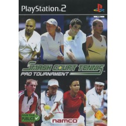 PS2 SMASH COURT TENNIS PRO TOURNAMENT - Jeux PS2 au prix de 2,95 €