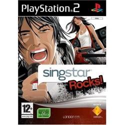 PS2 SINGSTAR ROCKS - Jeux PS2 au prix de 6,95€