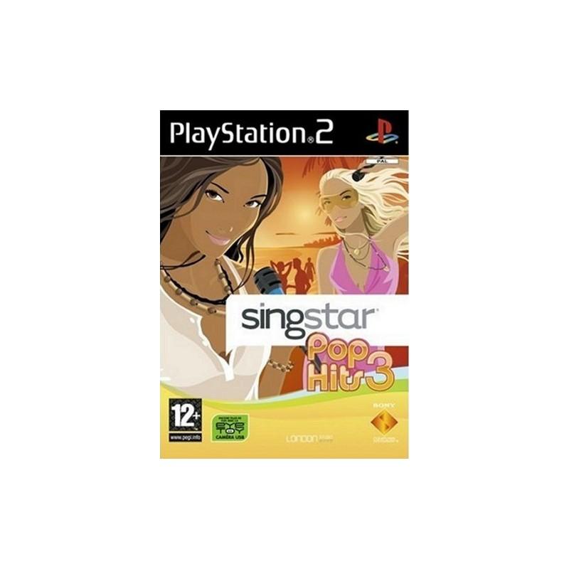 PS2 SINGSTAR POP HITS 3 - Jeux PS2 au prix de 4,95€