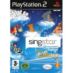 PS2 SINGSTAR CHANSONS MAGIQUES DE DISNEY - Jeux PS2 au prix de 9,95€
