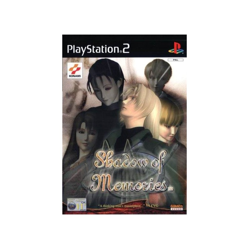 PS2 SHADOW OF MEMORIES - Jeux PS2 au prix de 9,95€