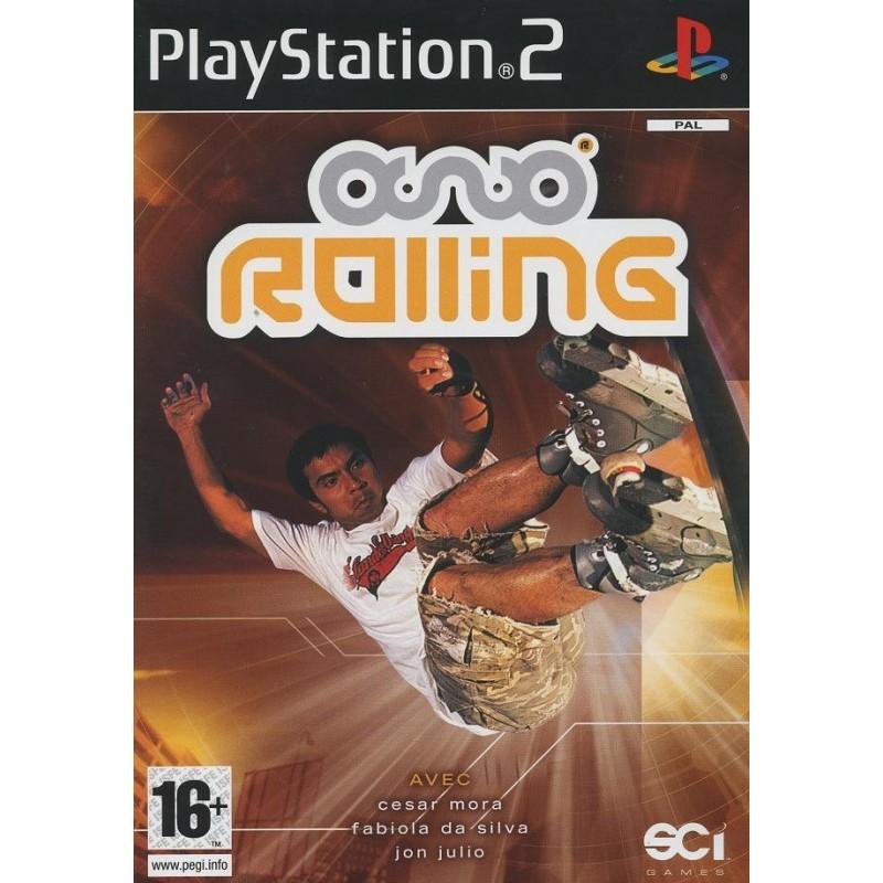 PS2 ROLLING - Jeux PS2 au prix de 4,95€