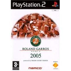 PS2 ROLAND GARROS 2005 - Jeux PS2 au prix de 3,95€