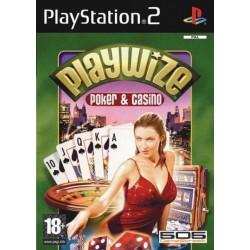 PS2 PLAYWIZE POKER ET CASINO - Jeux PS2 au prix de 1,95€