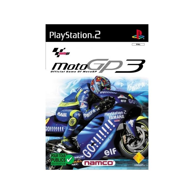 PS2 MOTO GP 3 - Jeux PS2 au prix de 3,95€