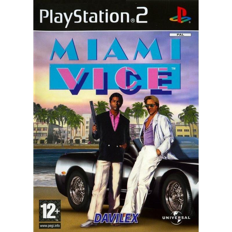 PS2 MIAMI VICE 2 FLICS A MIAMI - Jeux PS2 au prix de 6,95€