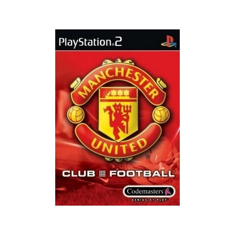 PS2 MANCHESTER UNITED - Jeux PS2 au prix de 4,95€