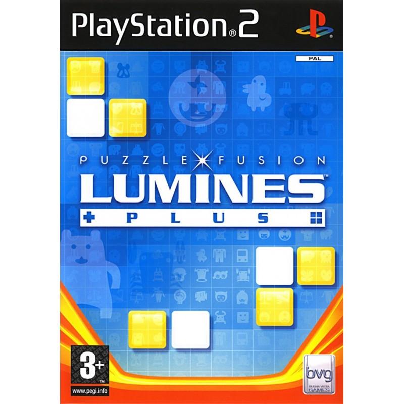 PS2 LUMINES PLUS - Jeux PS2 au prix de 4,95€