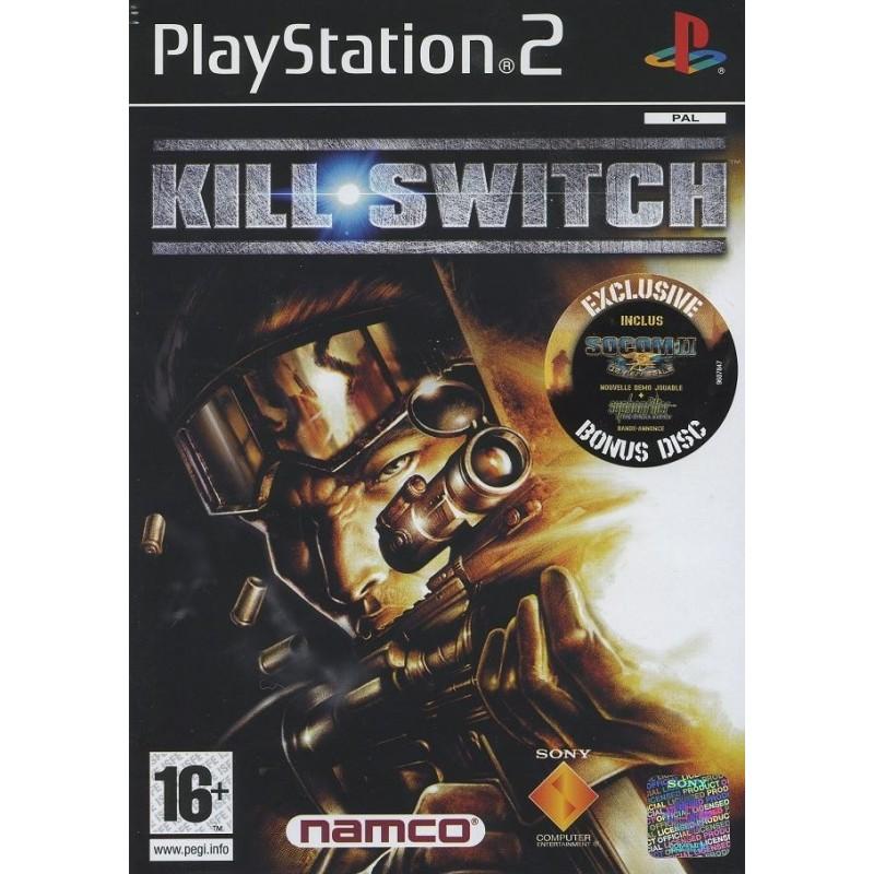 PS2 KILL SWITCH - Jeux PS2 au prix de 6,95€
