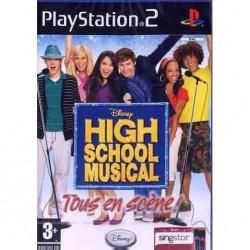 PS2 HIGH SCHOOL MUSICAL TOUS EN SCENE - Jeux PS2 au prix de 1,95€