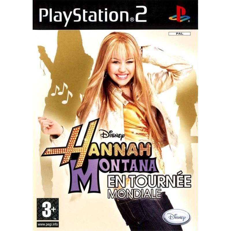 PS2 HANNAH MONTANA EN TOURNEE MONDIALE - Jeux PS2 au prix de 4,95€