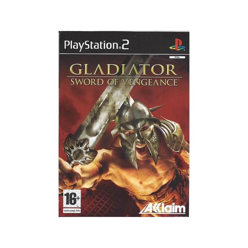 PS2 GLADIATOR SWORD OF VENGEANCE - Jeux PS2 au prix de 6,95€