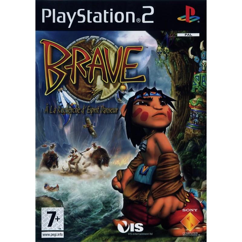 PS2 BRAVE : THE SEARCH FOR SPIRIT DANCER - Jeux PS2 au prix de 6,95€