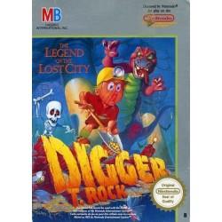 NES DIGGER T.ROCK - Jeux NES au prix de 14,95€