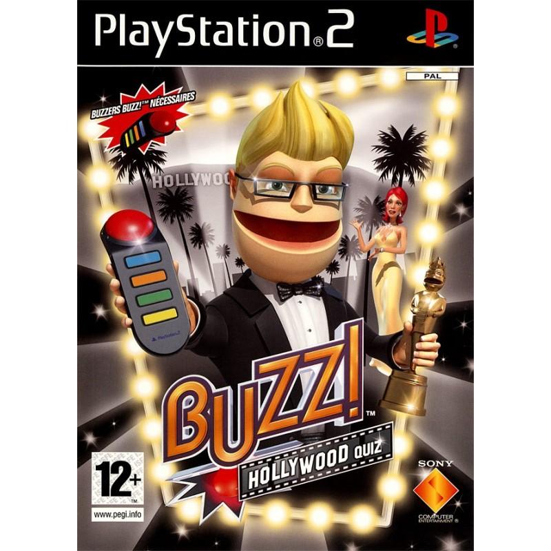 PS2 BUZZ ! : HOLLYWOOD QUIZ - Jeux PS2 au prix de 3,95€