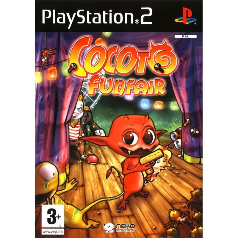 PS2 COCOTO FUNFAIR - Jeux PS2 au prix de 4,95€