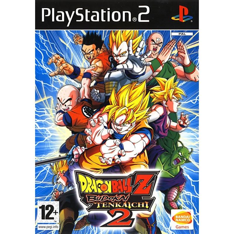 PS2 DRAGON BALL Z BUDOKAI TENKAICHI 2 - Jeux PS2 au prix de 4,95€