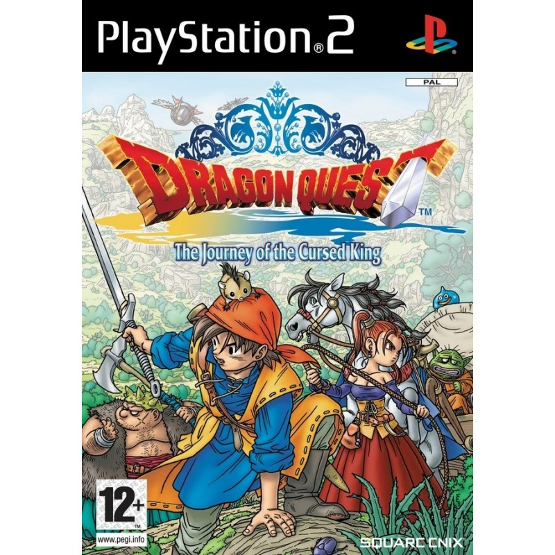 PS2 DRAGON QUEST VIII IMPORT US - Jeux PS2 au prix de 19,95 €