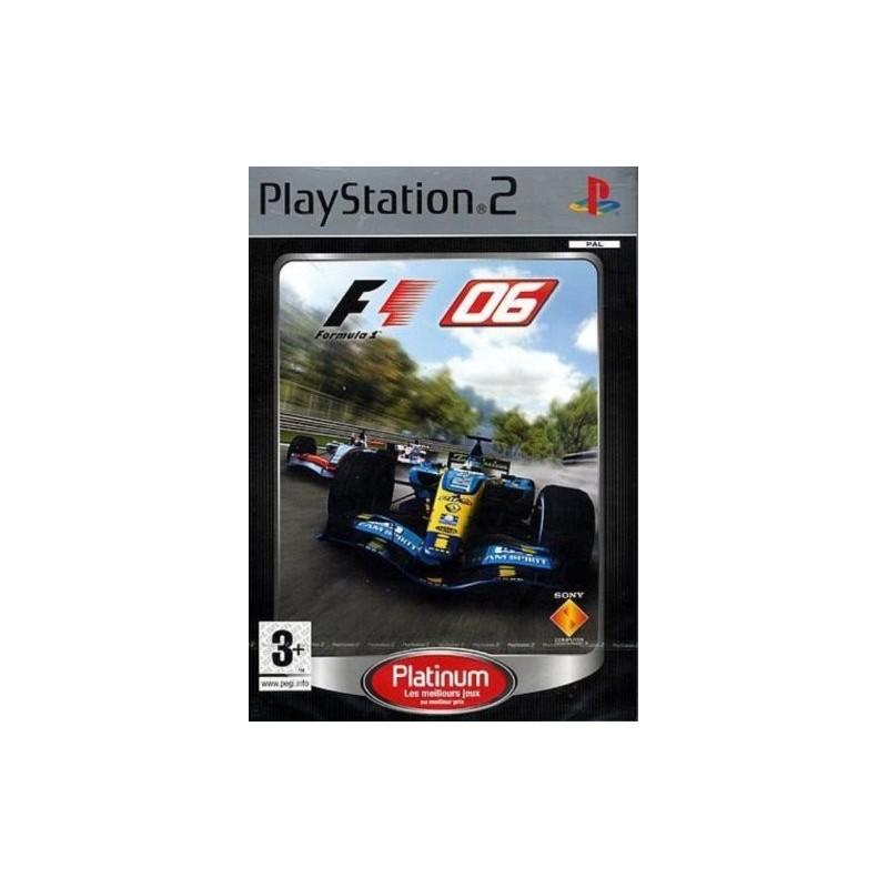 PS2 F1 06 (PLATINUM) - Jeux PS2 au prix de 0,95€