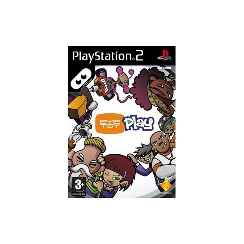 PS2 EYE TOY PLAY - Jeux PS2 au prix de 1,95€