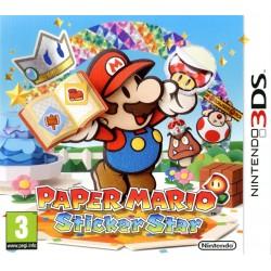 3DS PAPER MARIO STICKER STAR - Jeux 3DS au prix de 14,95€