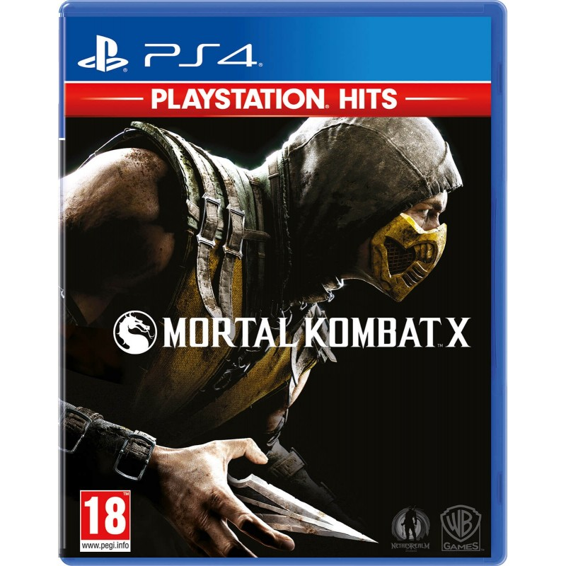 PS4 MORTAL KOMBAT X HITS OCC - Jeux PS4 au prix de 14,95€