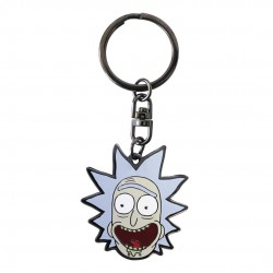 PORTE CLES RICK AND MORTY RICK (METAL) - Porte Clés au prix de 6,95 €