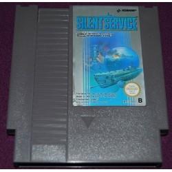 NES SILENT SERVICE (LOOSE) - Jeux NES au prix de 4,95€