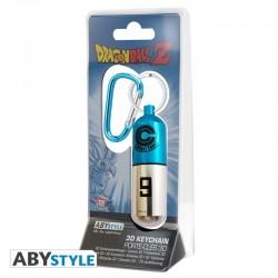 PORTE CLES DRAGON BALL Z CAPSULE 3D - Porte Clés au prix de 9,95€