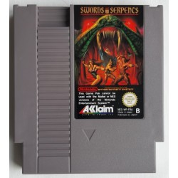 NES SWORDS AND SERPENTS (LOOSE) - Jeux NES au prix de 6,95 €