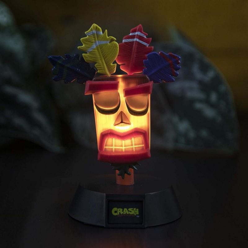 LAMPE CRASH BANDICOOT AKU AKU ICONS - Lampes Décor au prix de 14,95€