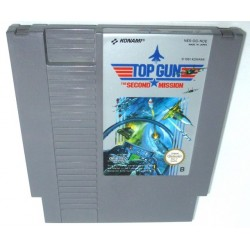 NES TOP GUN THE SECOND MISSION (LOOSE) - Jeux NES au prix de 4,95 €