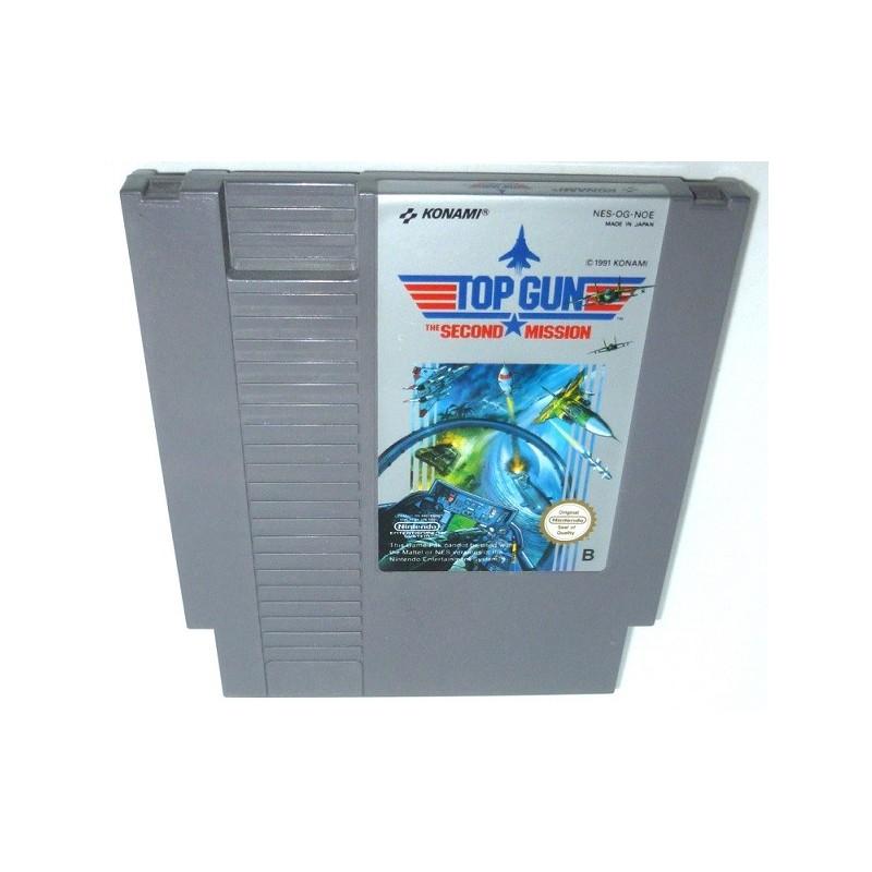 NES TOP GUN THE SECOND MISSION (LOOSE) - Jeux NES au prix de 4,95€