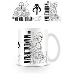 MUG STAR WARS THE MANDALORIAN 315ML - Mugs au prix de 9,95€