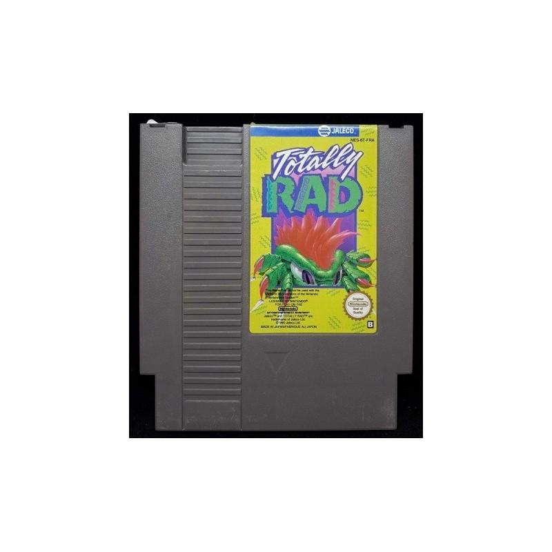 NES TOTALLY RAD (LOOSE) - Jeux NES au prix de 4,95€
