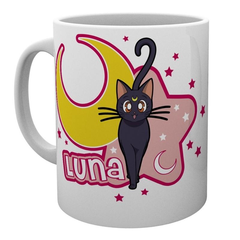 MUG SAILOR MOON LUNA 315ML - Mugs au prix de 9,95€