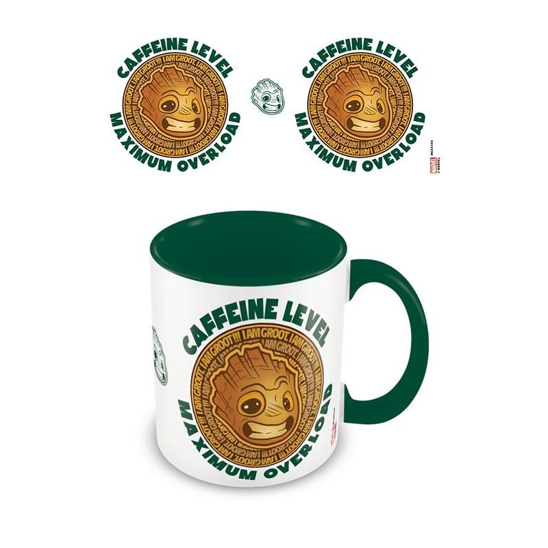 MUG GUARDIANS OF THE GALAXY GROOT CAFFEINE 315ML - Mugs au prix de 9,95€