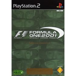 PS2 FORMULA ONE 2001 EDITION LIMITEE - Jeux PS2 au prix de 3,95€