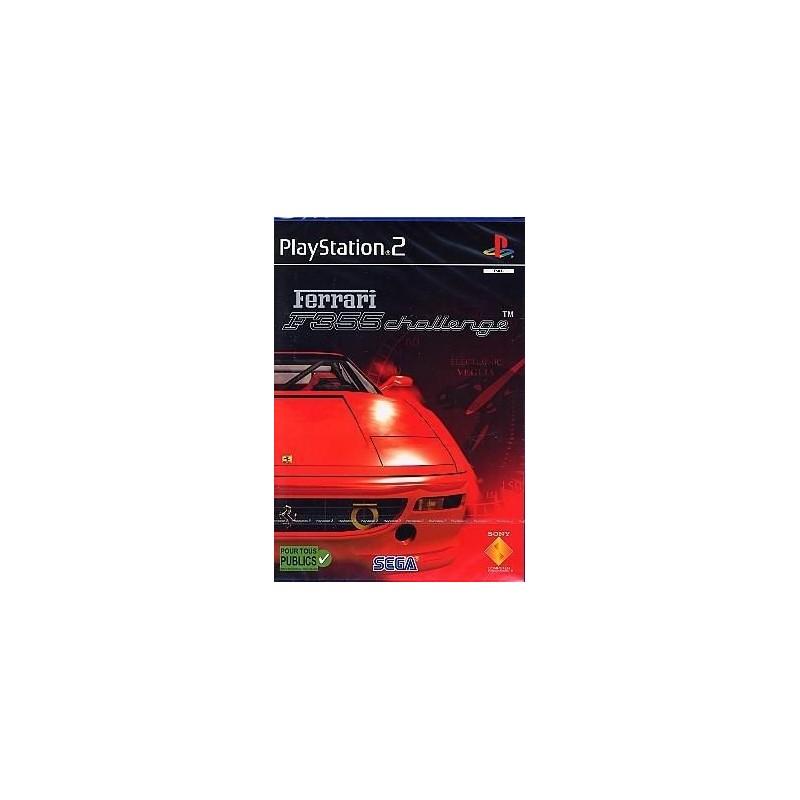 PS2 FERRARI F355 CHALLENGE - Jeux PS2 au prix de 5,95€