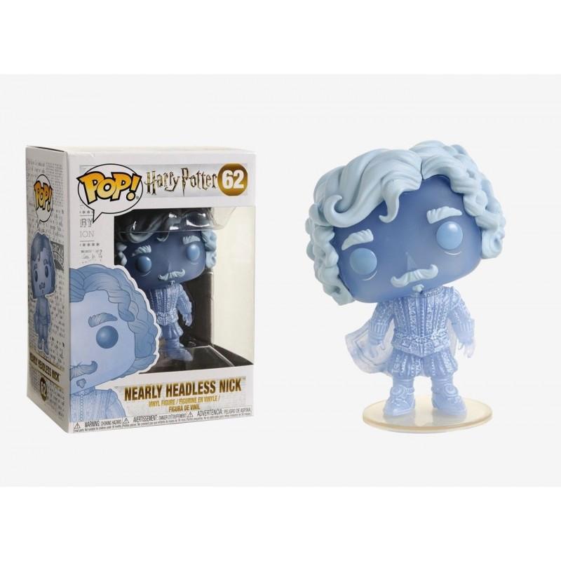 POP HARRY POTTER 62 NICK BLUE TRANSLUCENT - Figurines POP au prix de 14,95€