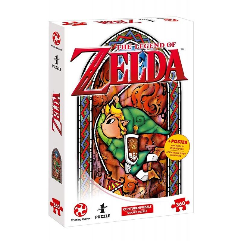PUZZLE ZELDA LINK ADVENTURER 360 PIECES - Puzzles au prix de 11,95€